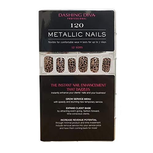 Dashing Diva Metallic Nails Animal Instincts, 120 Count