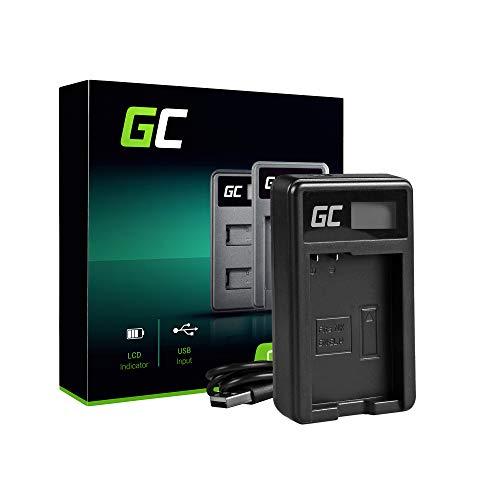 Green Cell MH-24 Caricabatterie per Nikon EN-EL14 Batteria e D3100 D3200 D3300 D3400 D5100 D5200 D5300 D5500 D5600 Coolpix P7000 P7100 P7700 P7800 Fotocameras (5W 8.4V 0.6A Nero)