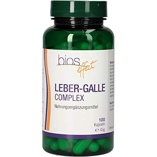Bios effect Leber-Gallen complex, 100 Kapseln, 1er Pack (1 x 45 g)