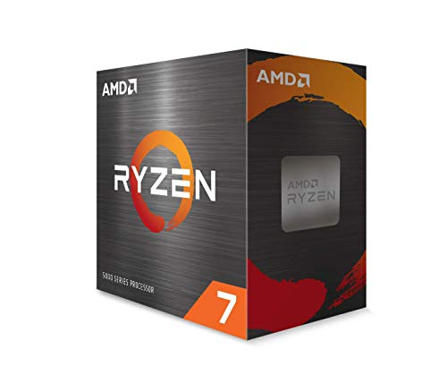 AMD Ryzen 7 5800X Procesador (8C / 16T, 36 MB de caché, hasta 4.7 GHz Max Boost)