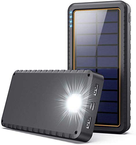 Solar Charger, 26800mAh Power Bank