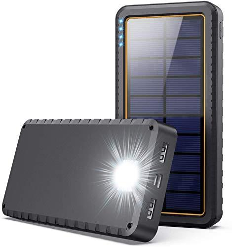 Solar Charger, 26800mAh Power Bank