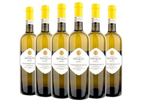 Vermentino di Gallura Superiore DOCG Cucaione box da 6 bottiglie Piero Mancini 2018 0,75 L