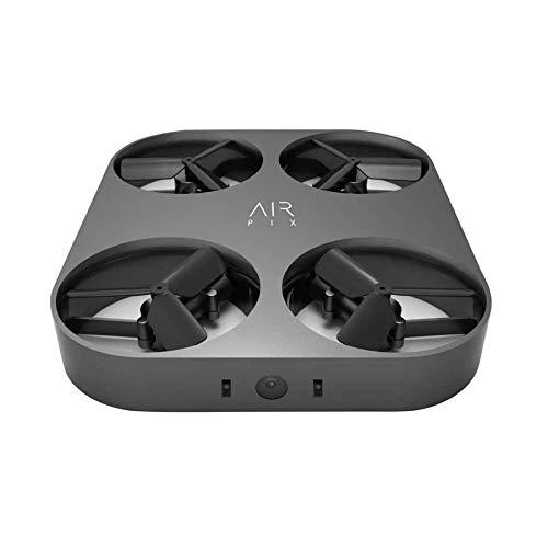 AirSelfie Air Pix, Telecamera Aerea Personale Ultraleggera Tascabile, Foto da 12 mp, Video 1080p hd, Autofly, Tecnologia Face Recognition