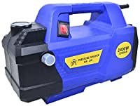 220Bar Powerful Motor ---- Schafter Incredible Professional Cleaning Power Generated by the 2400 Watt Motor Outputs a Whopping 520L/H and 220Bar Pressure for Maximum Cleaning and Scrubbing Power. Max run time is 10mins need to stop the motor to preve...