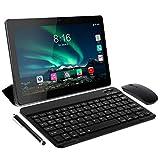Tablet 10 Pollici 8 Core - TOSCIDO Android 10.0 Certificato da Google GMS Tablet 4G LTE,4 GB di RAM e 64 GB, Doppia SIM,GPS,WiFi,Ttastiera Bluetooth,Mouse,Custodia per Tablet e Altro Incluso - Gray