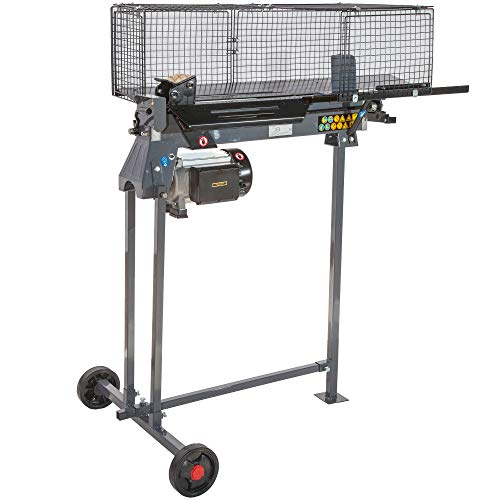 STAHLMANN® Hydraulik-Holzspalter, 7 Tonnen Spaltkraft, inkl. Tisch, stufenlos verstellbarer Spaltweg, TÜV GS geprüft