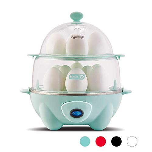 Dash Deluxe Rapid Egg Cooker: Electric, 12...