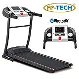 FP-TECH Tapis Roulant électrique 1 HP 1000 W Top de Gamme avec Bluetooth Ed App Lecteur MP3 et USB