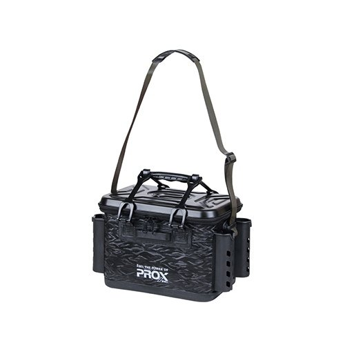 プロックス EVAタックルバッカン ロッドホルダー付 36㎝/ブラック PX966236BK 36㎝