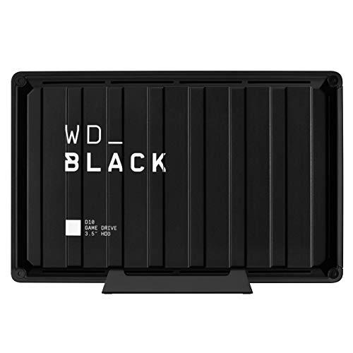 Western Digital WD Black D10 Game Drive Hard Disk Esterno Desktop, Compatibile con PS4, Xbox One, PC...