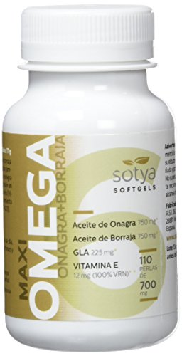 SOTYA Omega 6 (Onagra y Borraja) 110 perlas 700 mg