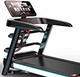 High end Treadmill Walking Home Treadmill, Color Screen WiFi Foldable Multifunctional Treadmill for The Operation of Fitness Equipment in The House, Conversion to Twelve Speeds RunningMachine1121