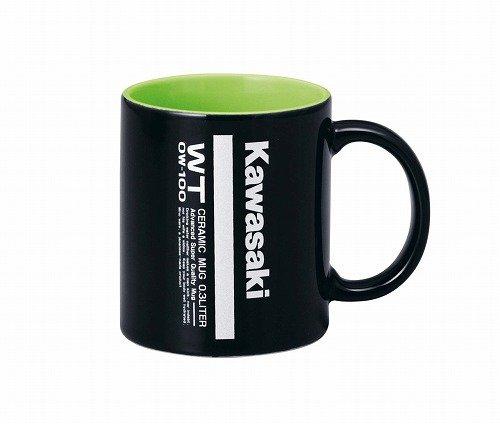 KAWASAKI (カワサキ) 純正部品(OEM) マグカップ BLK/GRN (300ML) J7012-0029A