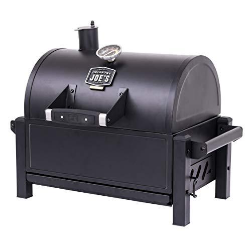 Product Image 2: Oklahoma Joe's 19402088 Rambler Portable Charcoal Grill, Black