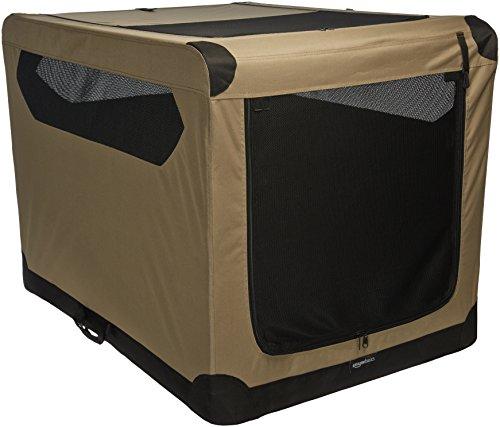 AmazonBasics 42 inch Folding Soft Dog Crate