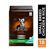 Purina Pro Plan With Probiotics Small Breed Dry Dog Food, SAVOR Shredded Blend Chicken & Rice Formula - 18 lb. Bag