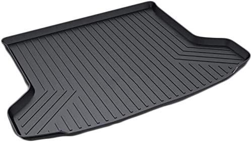 Hi Art Rear Waterproof Tray Boot Trunk Mat Compatible with Kia Seltos, Black