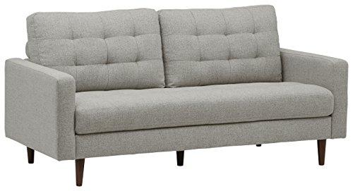 Marchio Amazon -Rivet, divano trapuntato modello Cove, stile mid-century, larghezza 80 cm, colore...