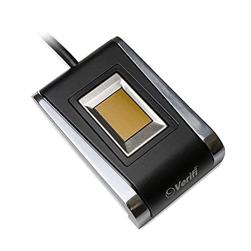 Verifi P5100 Premium Metal USB Fingerprint Reader for...