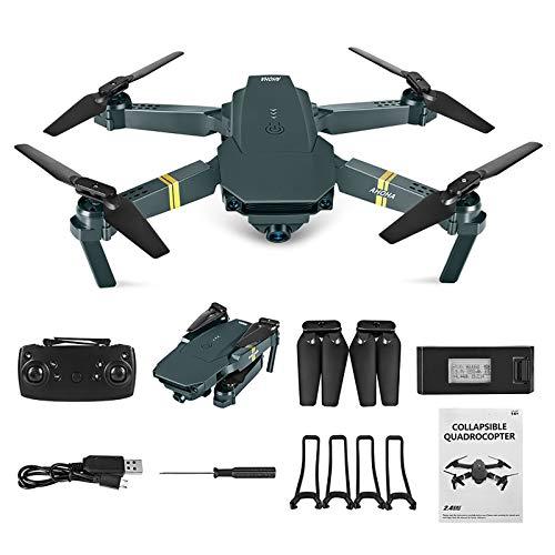WiFi FPV Drone 4K con Telecamera grandangolare HD 1080P Camera Hight Hold Mode Braccio Pieghevole RC Quadricottero Drone PRO RTF con sensore G/Headless-Modus/One Key Return Dron per Regalo