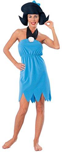 Rubie's womens The Flintstone's Betty Rubble Costume ,Blue ,Large