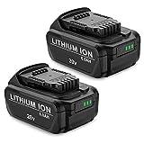 Dutyone 2 Pack 6.0Ah Battery...