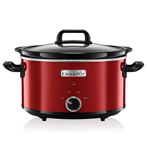 Crock-Pot SCV400RD Olla de cocción lenta manual para preparar...