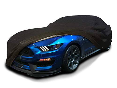 CarsCover Custom Fit 2015-2019 Ford Mustang Shelby GT350 GT Fastback Bullitt Car Cover Ultrashield Black Covers