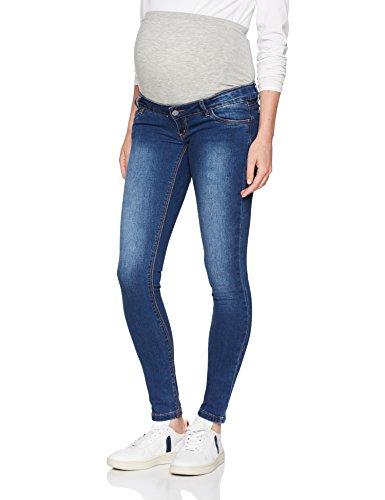 MAMALICIOUS Damen MLLOLA Slim Jeans NOOS B. Umstandshose, Blau (Blue Denim), W27/L32 (Herstellergröße:27)