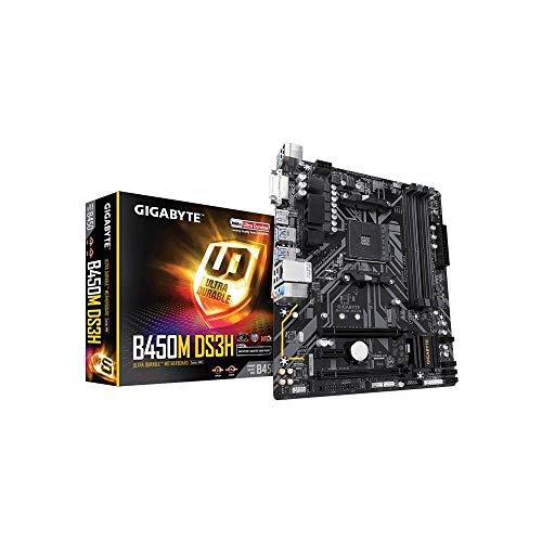 Gigabyte GA-B450M-DS3H Carte mère AMD Socket AM4