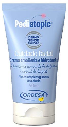 Pediatopic Cuidado Facial 50ml, crema emoliente e hidratante