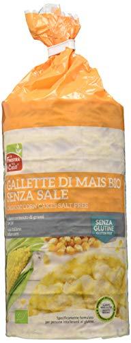 La Finestra Sul Cielo Gallette di Mais S/Sale - Confezioni da 12 x 110 gr
