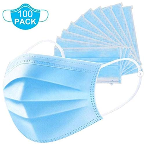 Soft Fog-Fog Free Procedure Mask, w/SO Soft Lining and Earloops (Pack of 100)