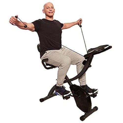 Original As Seen On TV Slim Cycle Stationary Bike - Folding Indoor