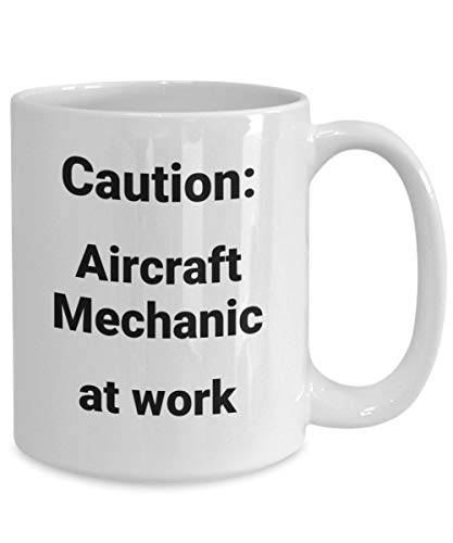Aircraft mechanic coffee mug funny gift idea for airline...