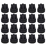 Rubber Grate Feet 00618112 00637940 Kit by Beaquicy - Replacement for Thermador & Bosch Range/Gas Range/Gas Cooktop (20 Pack)