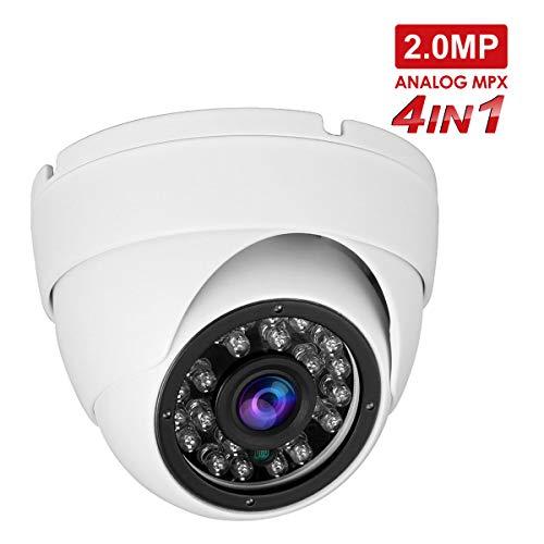 Anpviz Telecamere 1080P HD TVI/CVI/AHD / 960H Telecamera dome vandalica 4 in 1, visione notturna 65ft Telecamera di sorveglianza