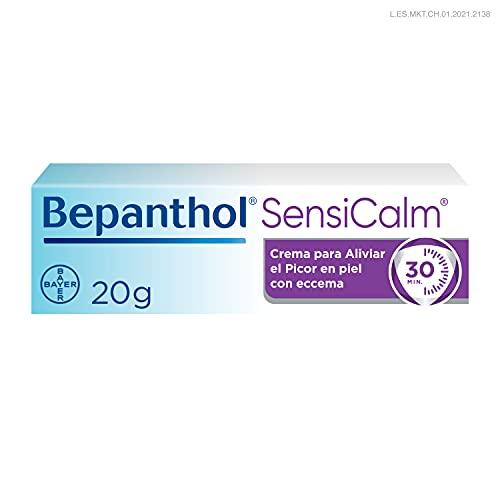 Bepanthol Calm Crema para Aliviar el Picor y Enrojecimiento de las Irritaciones Cutáneas en Solo 30 Minutos, Sin Cortisona, 20 g