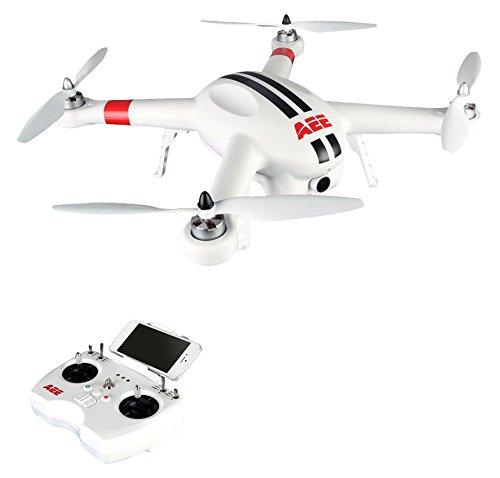 AEE AP10 PRO Drone Quadricottero, Alte Prestazioni, GPS, Videocamera Incorporata 1080p / 60fps