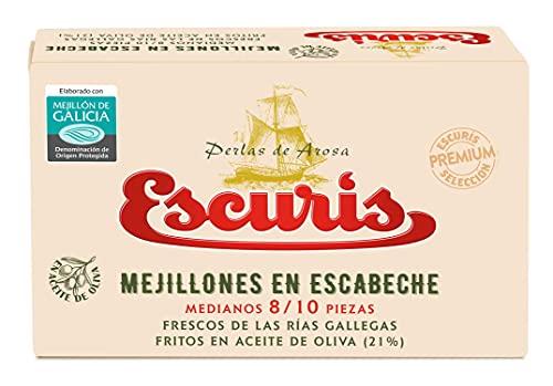 Escuris Mejillones Escabeche Fritos en Aceite de Oliva - 111