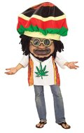 Forum Novelties Rasta Mon Big Head Costume