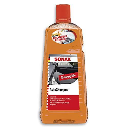 SONAX AutoShampoo Konzentrat (2 Liter) durchdringt und löstr Schmutz...