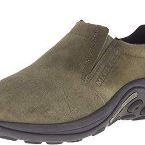 Merrell Men's Jungle Moc Slip-On Shoe, Dusty Olive, 13 M US