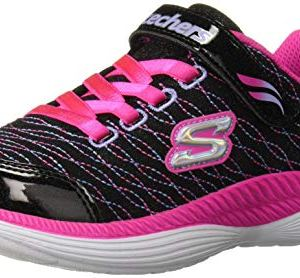 Skechers Kids' Move'n Groove-Sparkle Spinner Sneaker