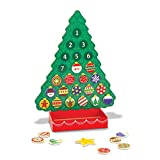Melissa & Doug Countdown to Christmas Wooden Advent Calendar - Magnetic Tree, 25 Magnets (Toy)