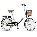 Nilox 30NXEB140V003V2 - Bicicleta eléctrica E Bike 36V 6AH 20X1.75P - J1, Motor 36 V 250 W,...