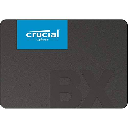 Crucial CT240BX500SSD1 SSD Interne BX500 (240 Go, 3D NAND, SATA, 2,5 pouces)