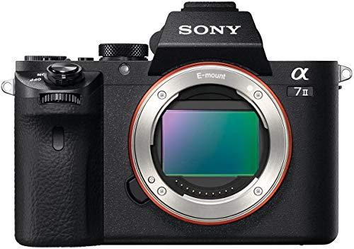Sony Alpha 7 II Appareil Photo Numérique Hybride Boitier Nu, Capteur Plein Format 35 mm, 24,3 Mpix, Stabilisation 5 axes