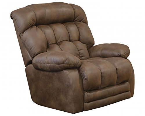 64210-7-1300-79 (Sunset) Horton Power Lay Flat Recliner with Extended Ottoman. Rated for 400 lbs. Free Curbside Delivery Extended Length 85 Inches